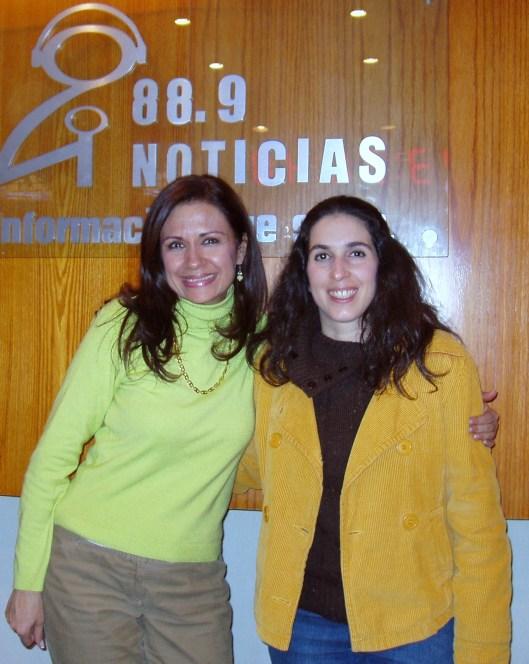 Al finalizar la entrevista, Gracias Julieta!