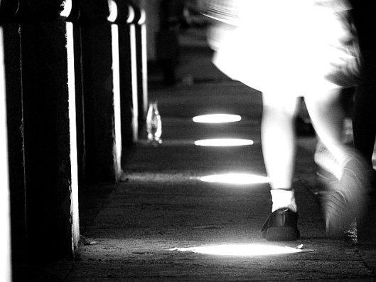 """Caminando sobre la luz"", de la fotógrafa Altamar"