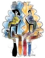 Imagen tomadad de http://taikarame.wordpress.com/2009/01/25/por-la-igualdad-lecturas-recomendadas/