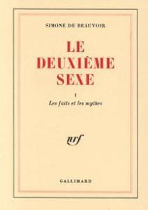 """Libro: """"El segundo sexo"""", de Simone de Beauvoir"""